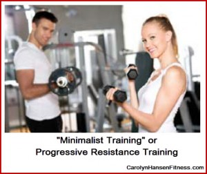 minimalist training